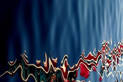 Docklands - vlajky ve vodě
