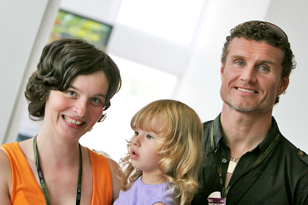 Bea, Timi a David Coulthard