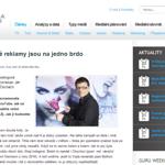 Rozhovor pro Mediaguru.cz