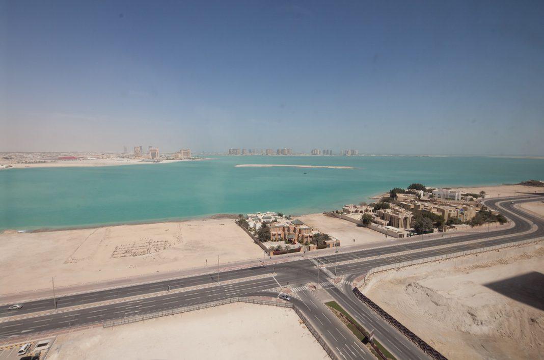 Katar, West Bay, výhled