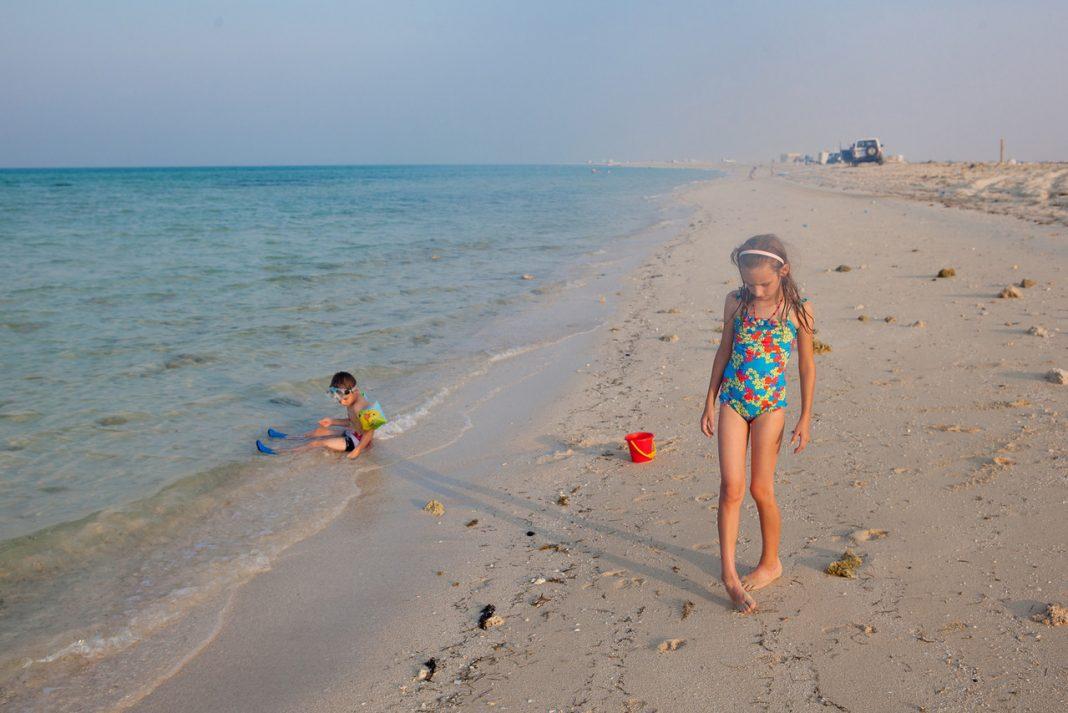 Katar, pláž