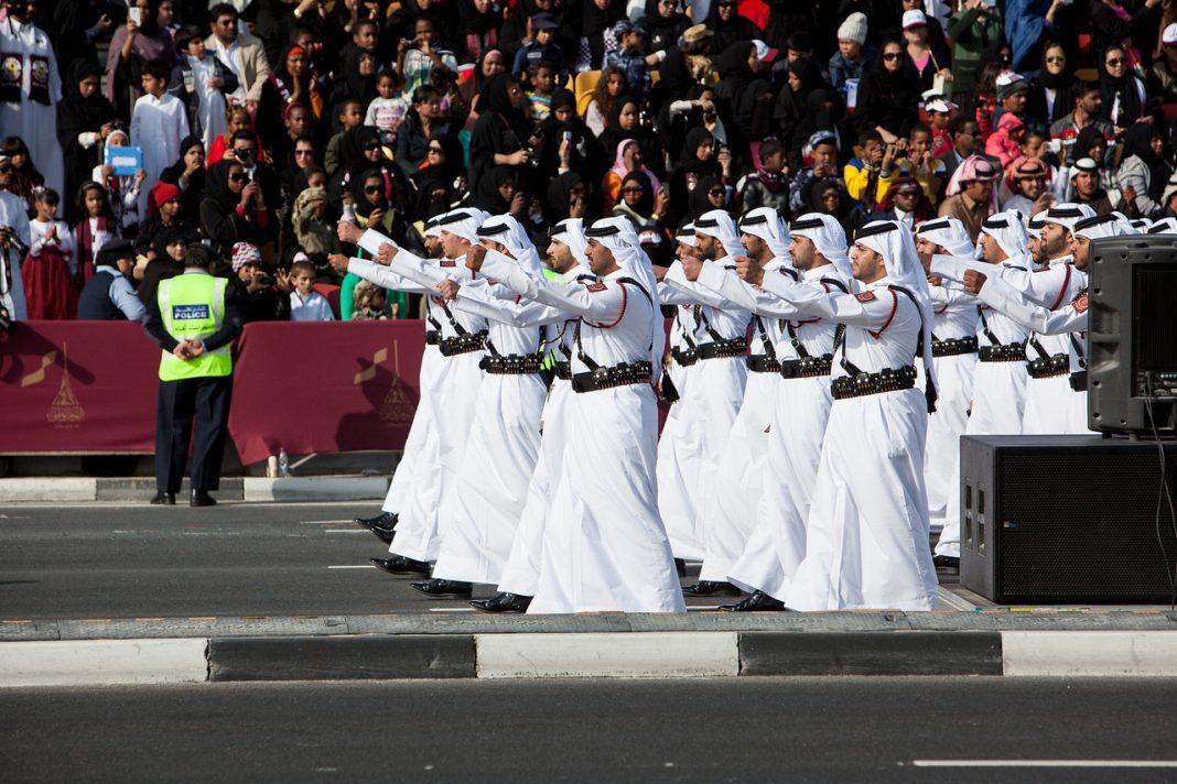 Katar, národní den, armáda, Arabové