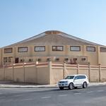 Sokolí voliéra Katar Falcon cage Qatar