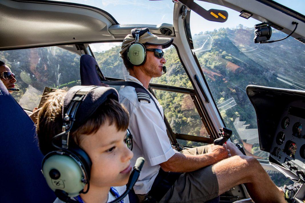 Vrtulník kabina