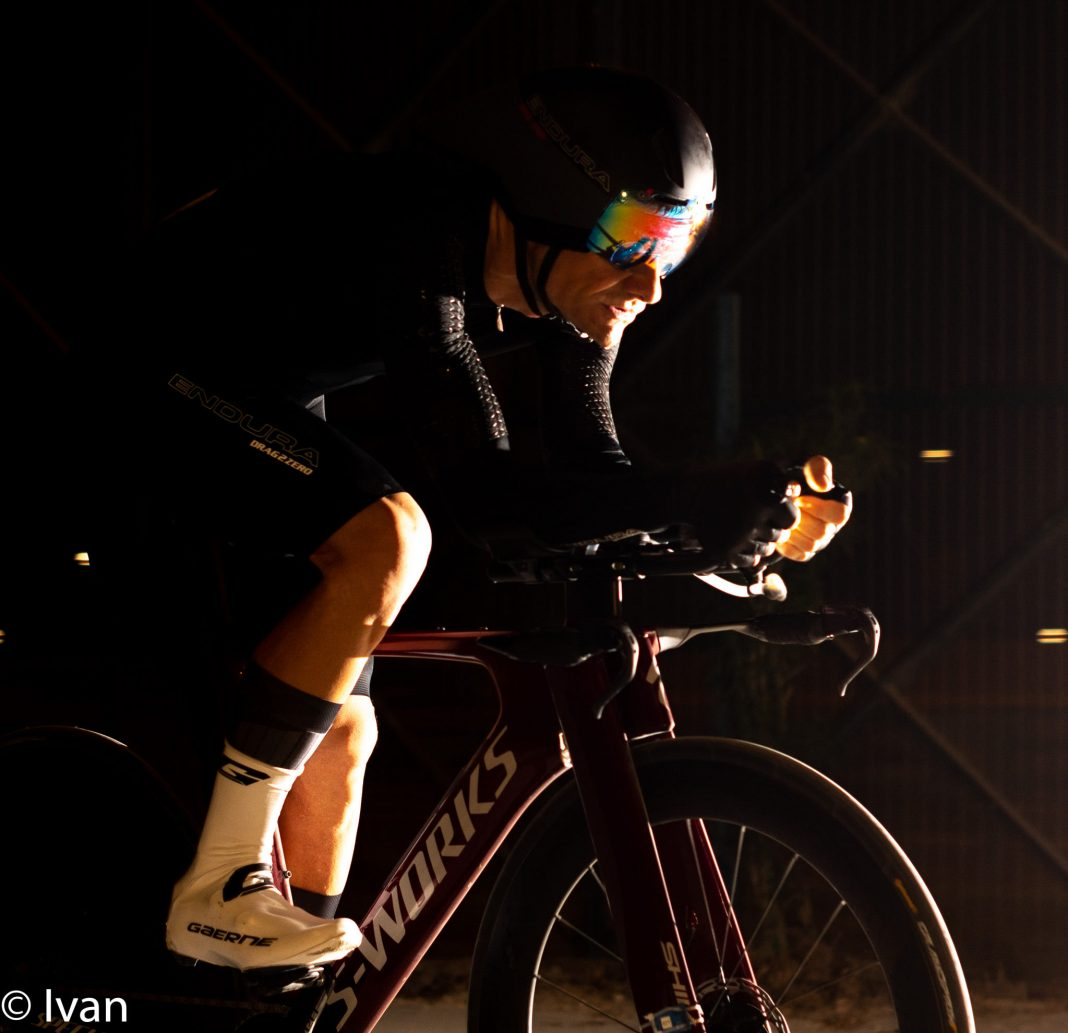 Martin Jaros night time trial by Ivan Lowe