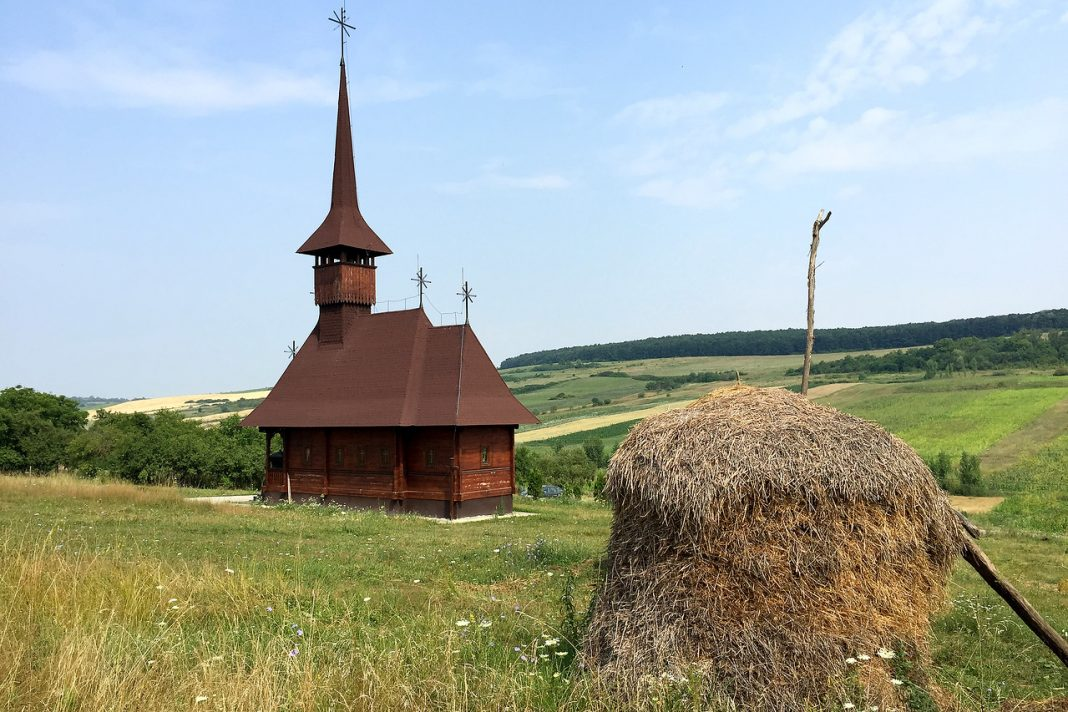 Romania wooden church