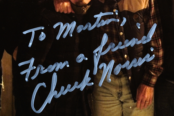 To Martin From a Friend - Chuck Norris