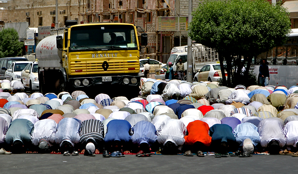 Modlitba, Kuvajt