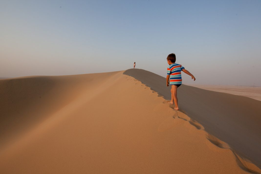 duny poušť Martin Jaroš