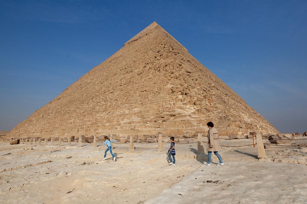 Káhira, pyramidy