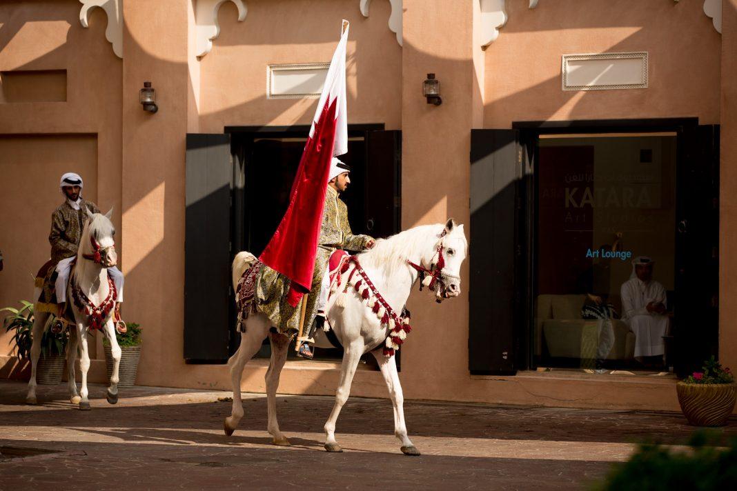 Katar, koně, jezdci