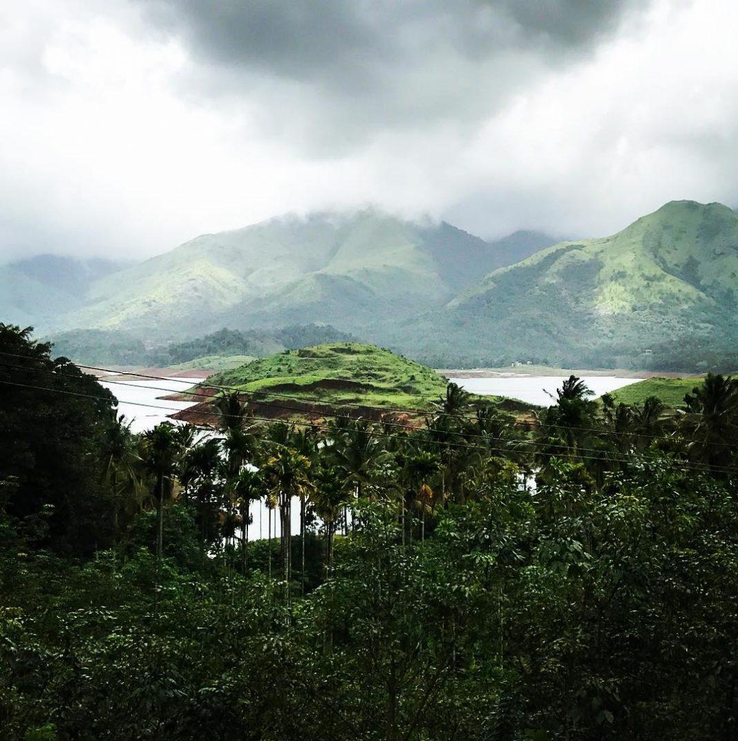Kerala India lake dam