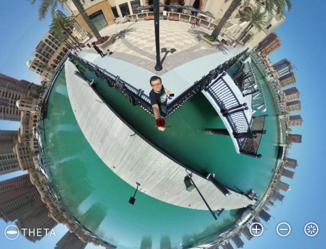 Theta S 360 degree Qatar Pearl